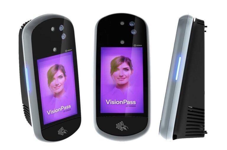Idemia VisionPass, facial recognition